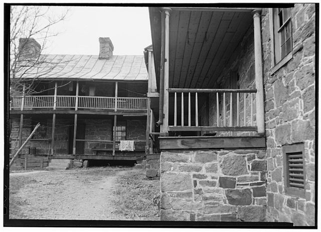 Old Stone Tavern, Route 50, New Creek, Mineral County, WV