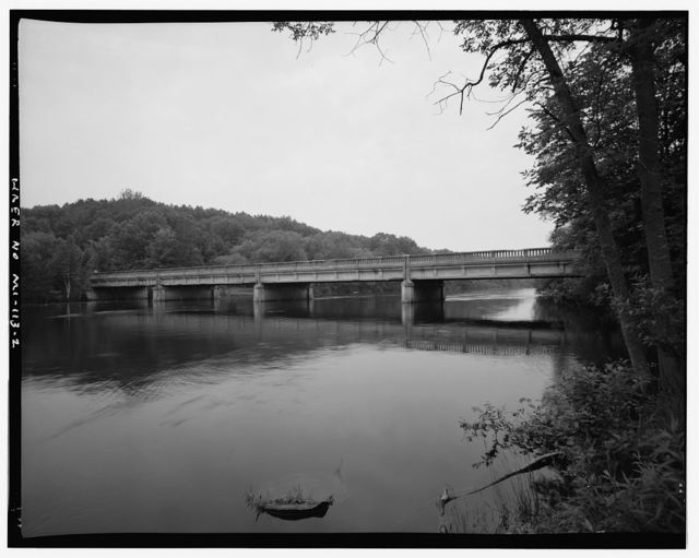 Old US-131 Bridge, Spanning Big Cedar River, Mecosta, Mecosta County, MI