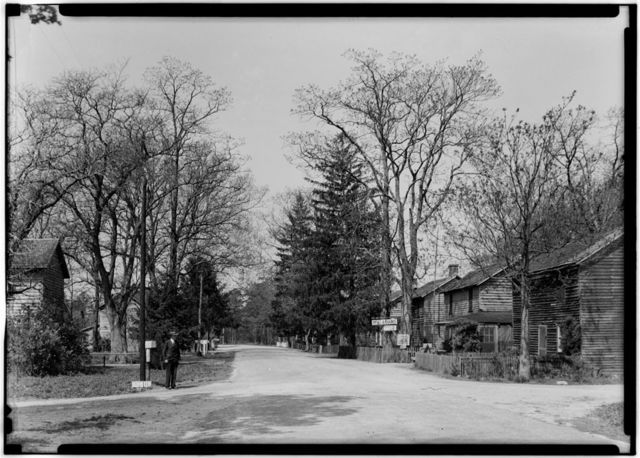 Old Village, General View, Batsto Village, Batsto, Burlington County, NJ