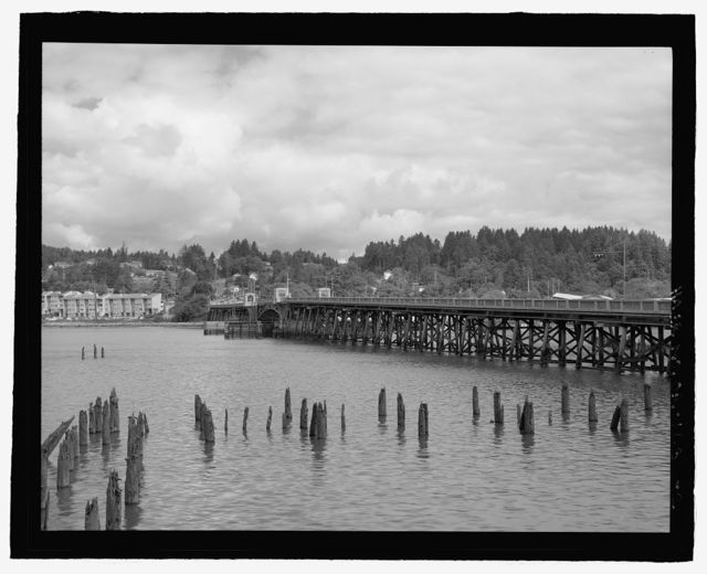 Old Young's Bay Bridge, Spanning Young's Bay at Milepoint 6.89 on Warrenton-Astoria Highway (Highway No. 9), Astoria, Clatsop County, OR