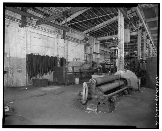 Oldman Boiler Works, Boilershop, 32 Illinois Street, Buffalo, Erie County, NY