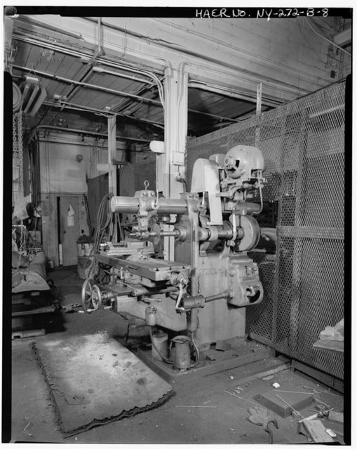 Oldman Boiler Works, Office/Machine Shop, 32 Illinois Street, Buffalo, Erie County, NY