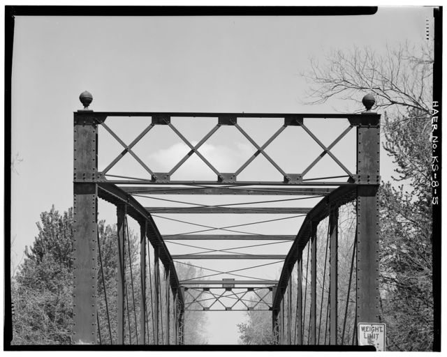 Onion Creek Bridge, Spanning Onion Creek .1 mile South of U.S. 166, Coffeyville, Montgomery County, KS