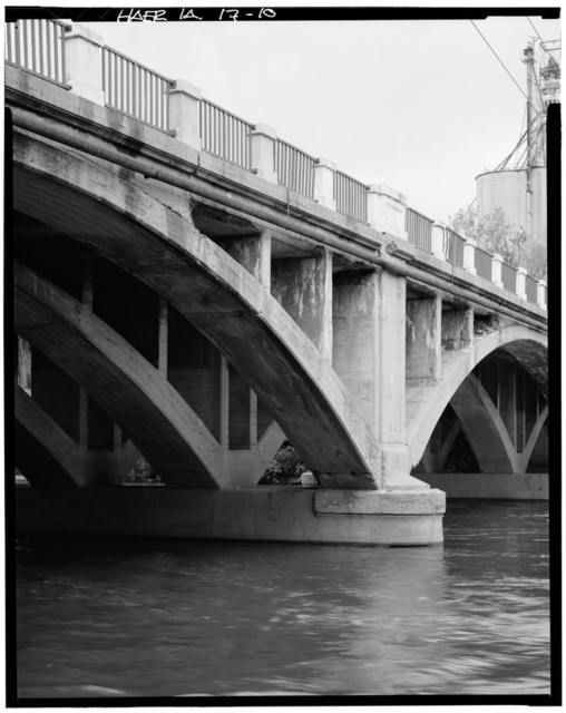 Open Spandrel Bridge, Hawkeye Avenue, spanning Des Moines River, Fort Dodge, Webster County, IA