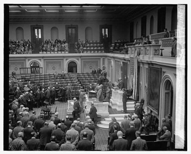 Opening of 71st Congress, 12/2/29