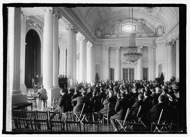 Opening of the Chilean Peruvian Conf., 5/15/22