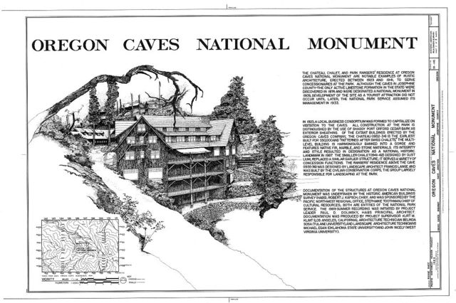 Oregon Caves National Monument, 19000 Caves Highway, Cave Junction, Josephine County, OR