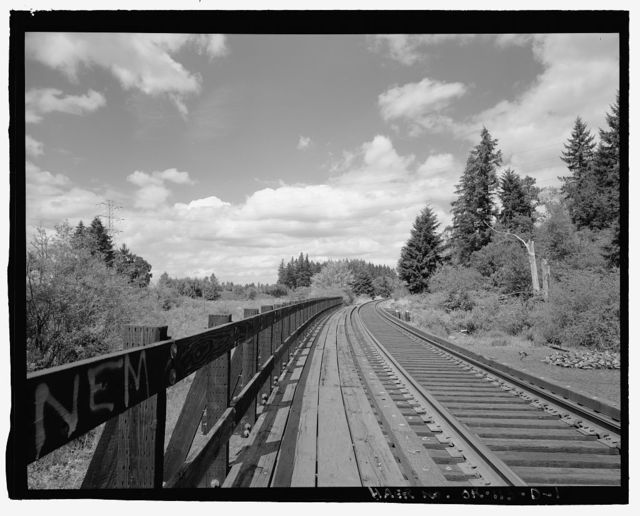 Oregon Electric Railroad, Hedges Creek Trestle, Garden Home to Wilsonville Segment, Milepost 38.7, Garden Home, Washington County, OR