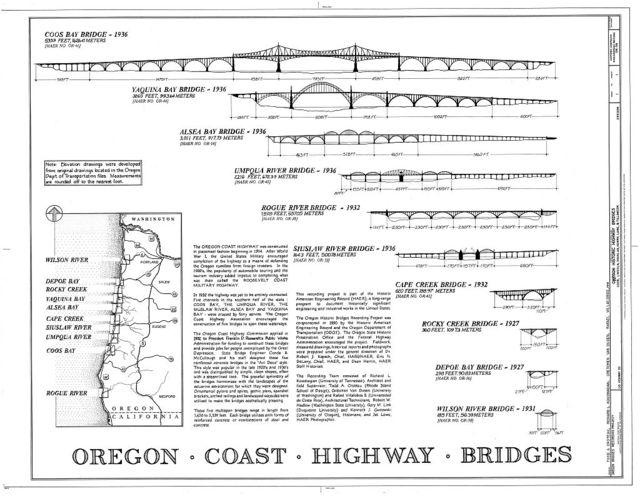 Oregon Historic Highway Bridges, Salem, Marion, OR