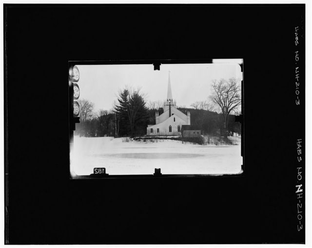 Orford Congregational Church, Main Street, Orford, Grafton County, NH