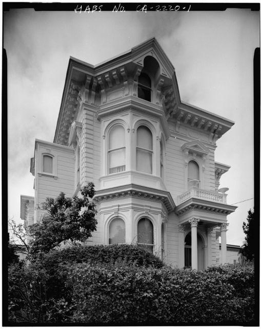Ortman-Shumate House, 1901 Scott Street, San Francisco, San Francisco County, CA