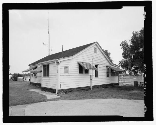 Ortona Lock, Lock No. 2, Lock Tender's House, Caloosahatchee River, Cross-State Canal, Okeechobee Intracoastal Waterway, Ortona, Glades County, FL