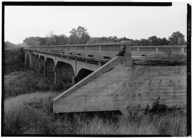 Osage River Bridge, Spanning Osage River on State Highway M-13, Osceola, St. Clair County, MO
