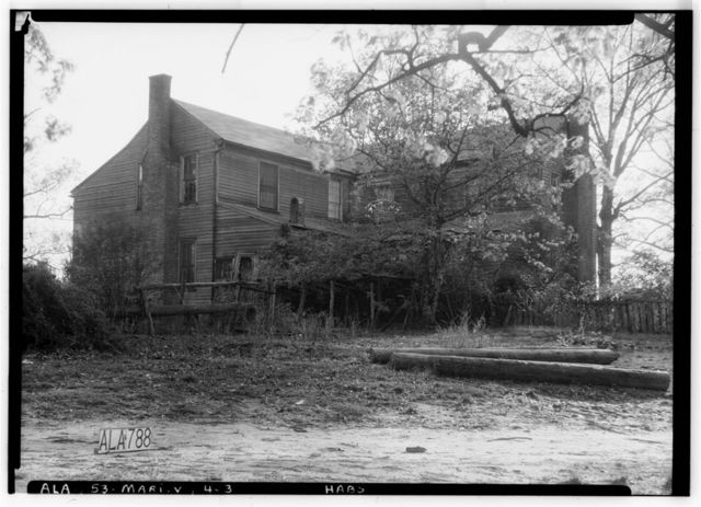 Osborne-Jones House, County Road 45 (Washington Street), Marion, Perry County, AL