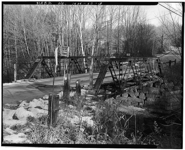 Osgood Bridge, Spanning Beebe River, Perch Pond Road, Campton Station, Grafton County, NH