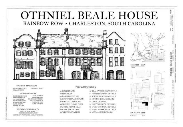 Othniel Beale House, 99-101 East Bay Street, Charleston, Charleston County, SC