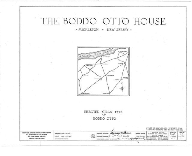 Otto-Tonkin House, Kings Highway, Mickleton, Gloucester County, NJ