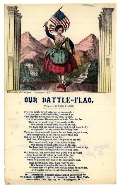 Our battle-flag. Written by Edward Willet