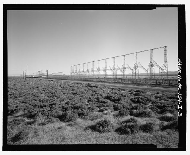 Over-the-Horizon Backscatter Radar Network, Christmas Valley Radar Site Transmit Sector Five Antenna Array, On unnamed road west of Lost Forest Road, Christmas Valley, Lake County, OR
