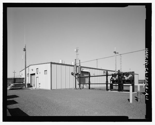 Over-the-Horizon Backscatter Radar Network, Tulelake Radar Site Receive Sector Four Receiver Building, Unnamed Road West of Double Head Road, Tulelake, Siskiyou County, CA