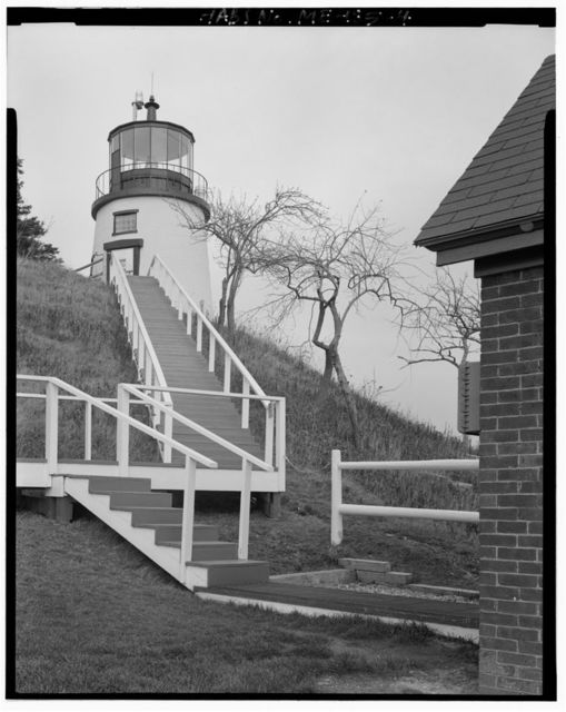 Owl's Head Light Station, Off State Highway 73 just east of Rockland on Owl's Head Bay, Owls Head, Knox County, ME
