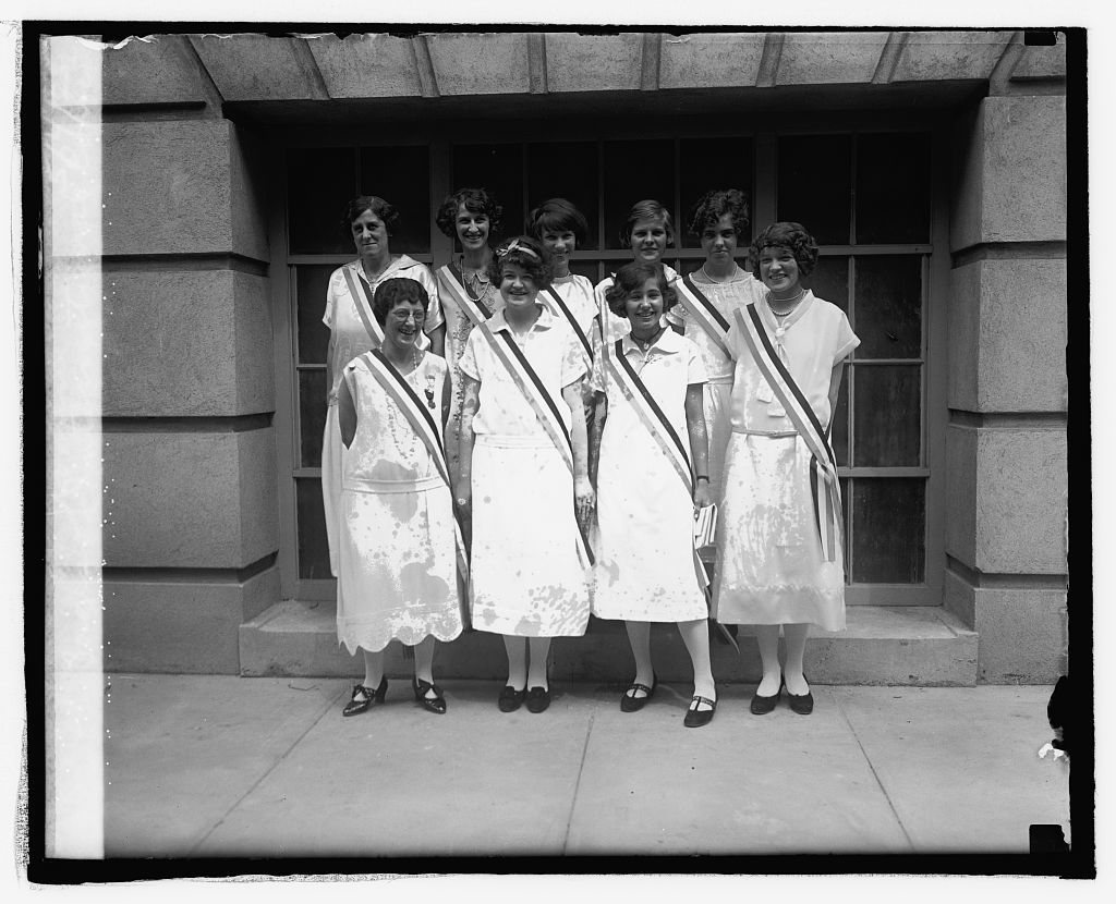 Pages of International Council of Women, 5/4/25