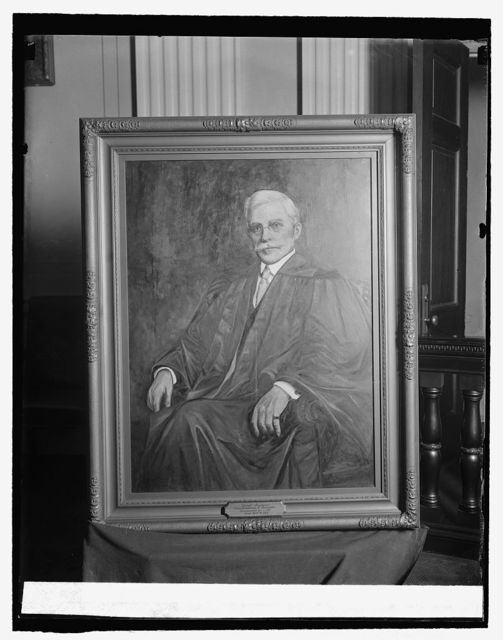 Painting of Chief Justice Constantine J. Smyth, 10/22/25