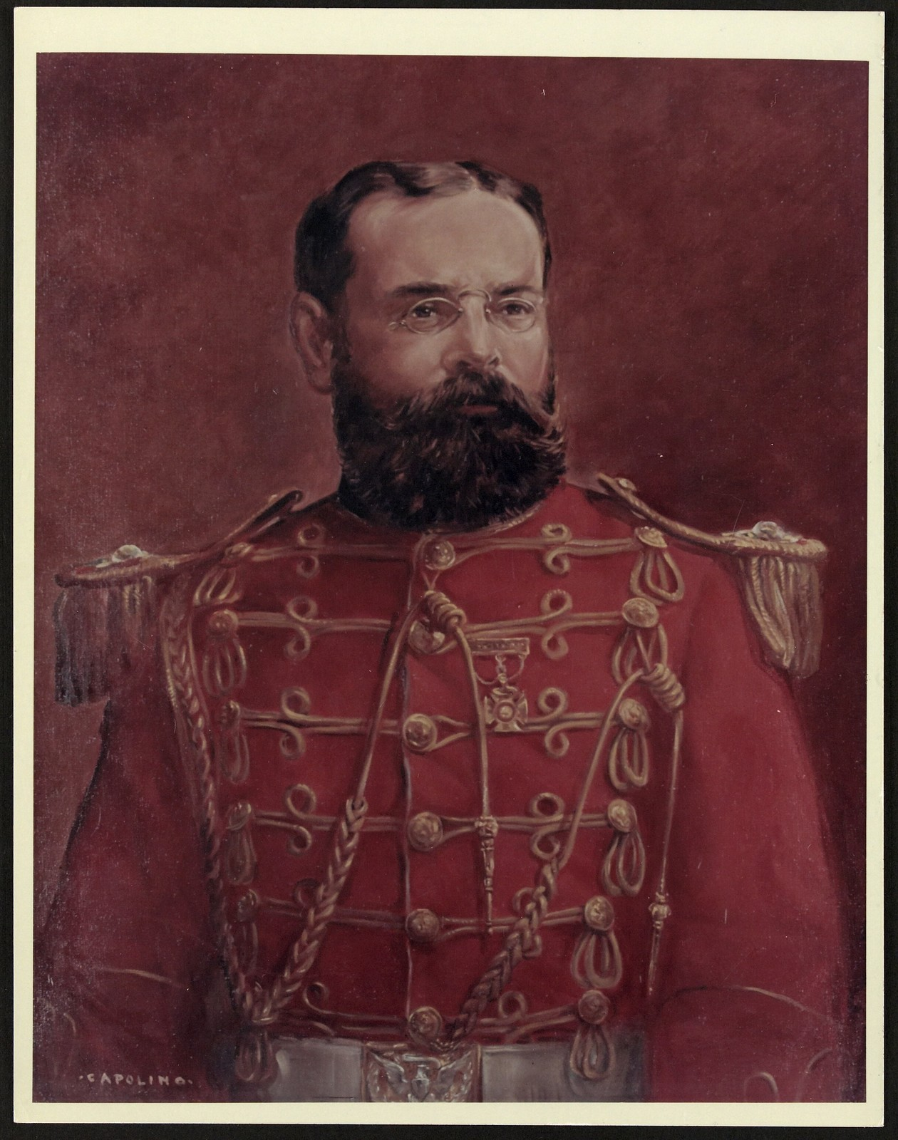Painting of Sousa by Capolino