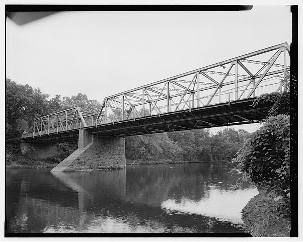 Palisado Avenue Bridge, Spanning Farmington River at State Route 159, Windsor, Hartford County, CT