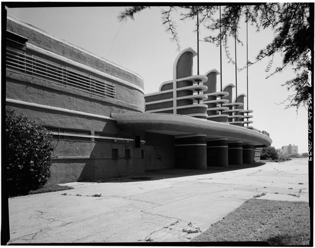 Pan Pacific Auditorium, 1600 Beverly Boulevard, Los Angeles, Los Angeles County, CA