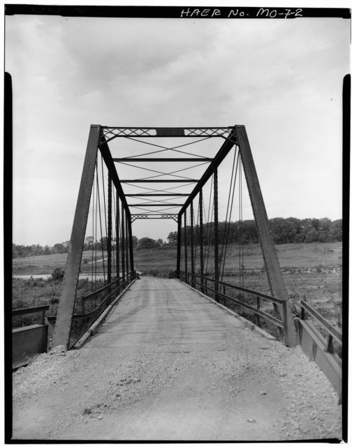 Paradise Road Bridge, Spanning Little Platte River, Paradise, Clay County, MO