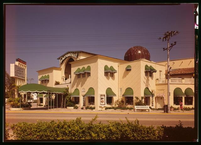 Paramount Theatre, Sunrise Avenue & North County Road, Palm Beach, Palm Beach County, FL