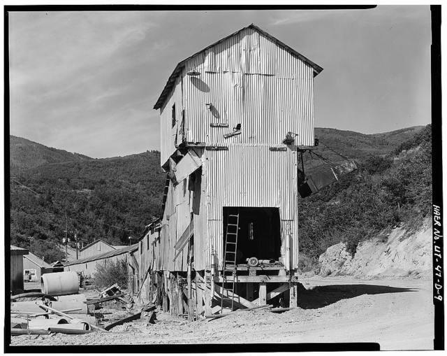 Park Utah Mining Company: Keetley Mine Complex, Tipple-Ore Car Snowshed, 1 mile East of U.S. 40 at Keetley, Heber City, Wasatch County, UT