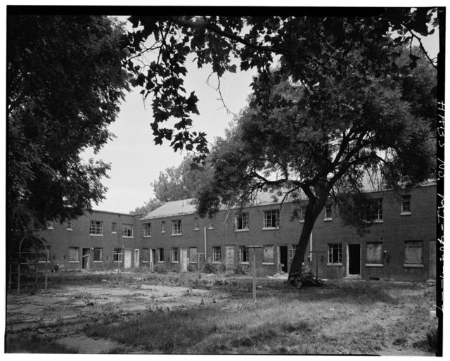 Parkside Homes & Addition, PWA Row Houses, Bounded by Connor, East Warren, & Gray Avenues & Frankfort Road, Detroit, Wayne County, MI