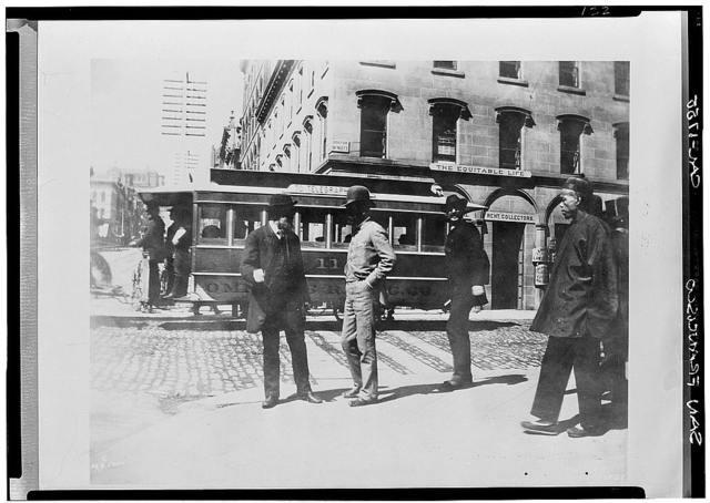 Parrott's Granite Block, Historic View, California & Montgomery Streets, San Francisco, San Francisco County, CA