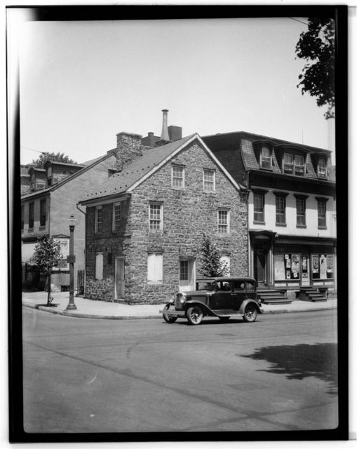 Parsons-Taylor House, South Fourth & Ferry Streets, Easton, Northampton County, PA