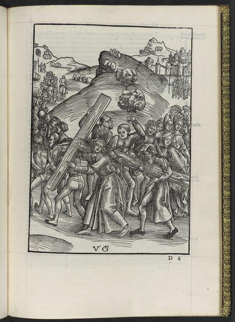 Passionis Christi vnvm ex quattuor Euangelistis textum.