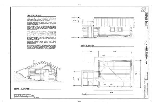 Pat O'Connell Cabin No. 2, 337 Minnie Street, Anaktuvuk Pass, North Slope Borough, AK