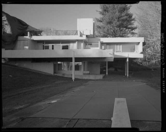 Paul Rudolph's Louis Micheels House, 16 Minute Man Hill, Westport, Fairfield County, CT
