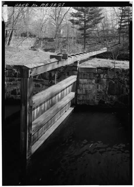 Pawtucket Canal, Guard Locks, Lowell, Middlesex County, MA