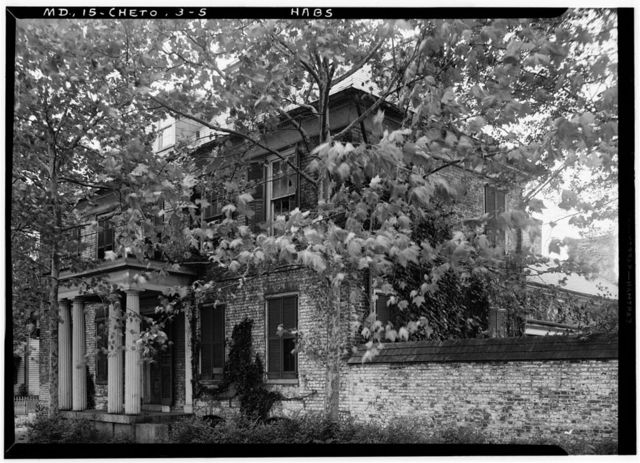 Pearce House, 106 Water Street, Chestertown, Kent County, MD