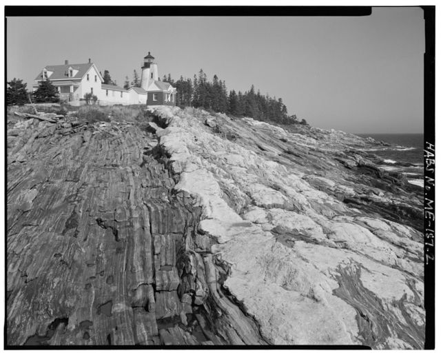 Pemaquid Point Light Station, End of State Highway 130 south of Bristol Village, Bristol, Lincoln County, ME