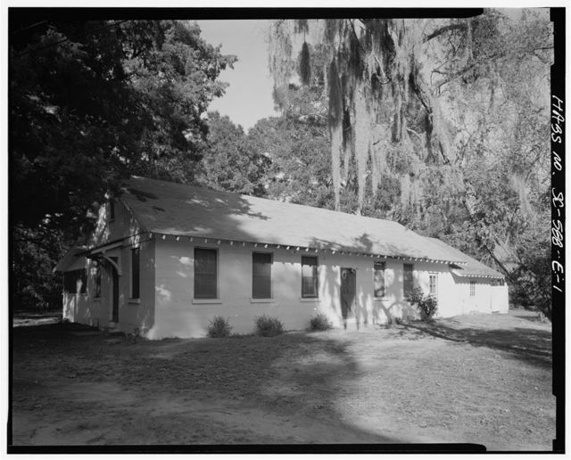 Penn School Historic District, Cafeteria, SC Route 37, 1 mile South of Frogmore, St. Helena Island, Frogmore, Beaufort County, SC