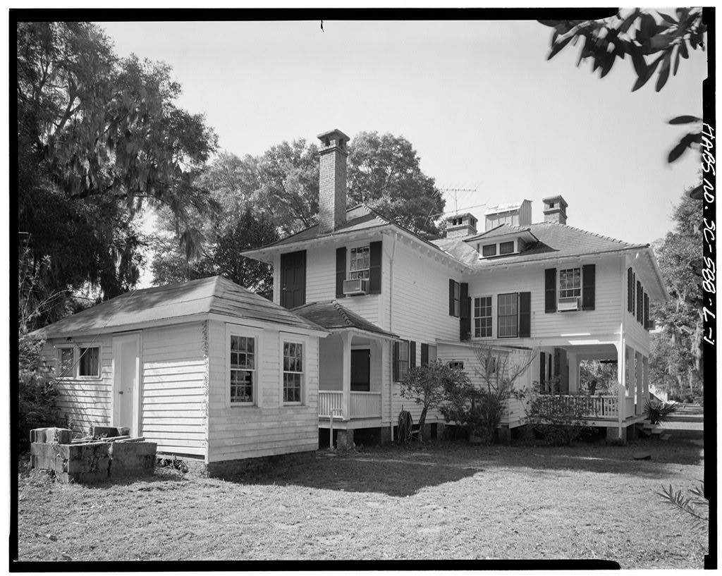 Penn School Historic District, Hampton House, SC Route 37, 1 mile South of Frogmore, St. Helena Island, Frogmore, Beaufort County, SC