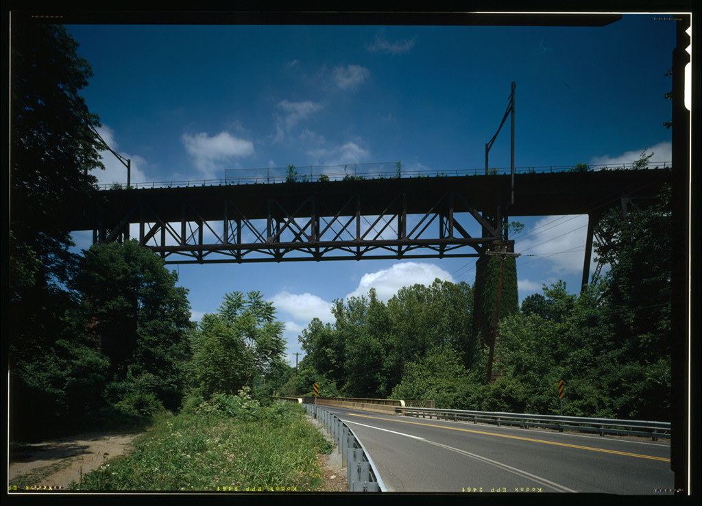 Pennsylvania Railroad, Brandywine Valley Viaduct, Spanning Brandywine Creek & U.S. Route 322, Downingtown, Chester County, PA