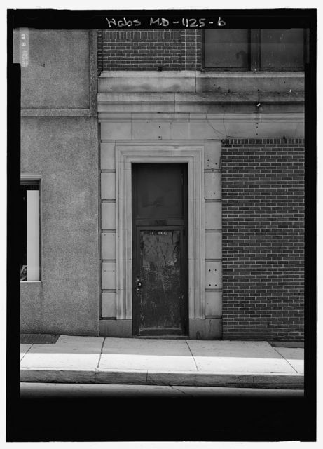 Pennsylvania Railroad Company District Office Building, 200 East Baltimore Street, Baltimore, Independent City, MD