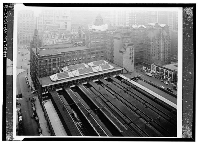 Pennsylvania Railroad Station, Broad Street Station, Broad & Market Streets, Philadelphia, Philadelphia County, PA