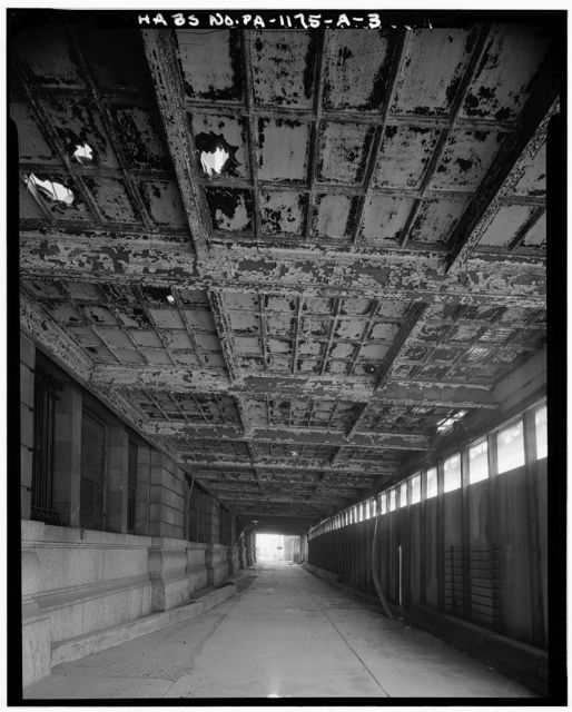 Pennsylvania Railroad Station, South Baggage Passage & Canopy, 1101 Liberty Avenue, Pittsburgh, Allegheny County, PA