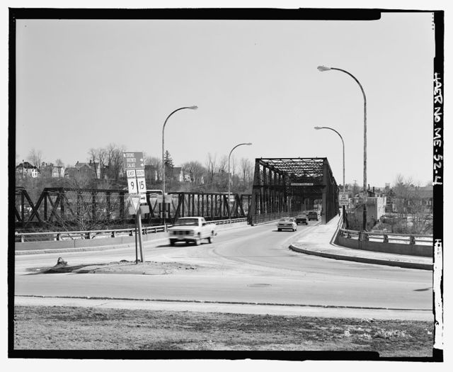Penobscot Bridge, Spanning Penobscot River at Route 15, Bangor, Penobscot County, ME
