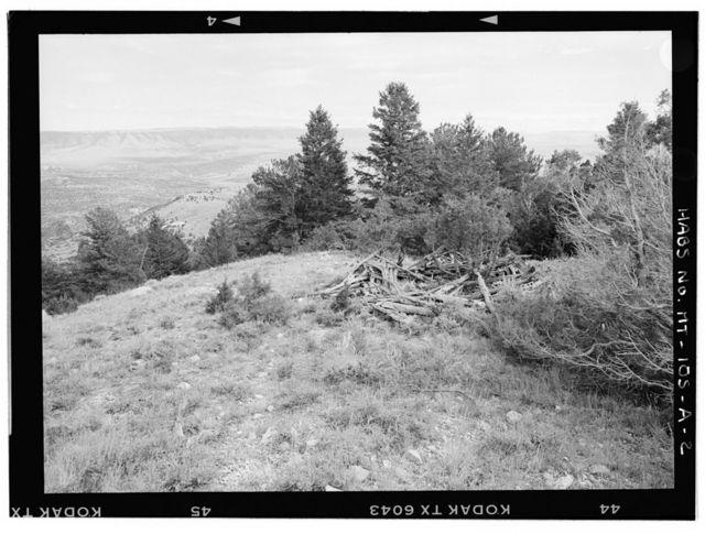 Pentagon Site, Pentagon 1, West of Barry's Landing off Highway 37, Fort Smith, Big Horn County, MT